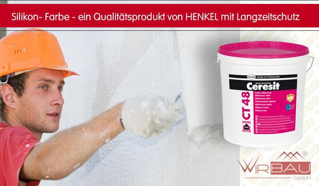 Sehr Ceresit CT 48 Silikon Fassadenfarbe - günstige Baustoffe online. JP44
