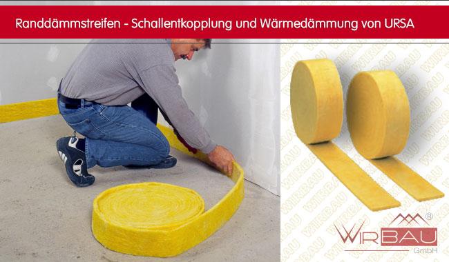 Fabulous URSA Estrichrandstreifen - günstige Baustoffe online. QY33