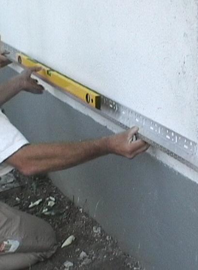 Gut gemocht Anleitung für den Aufbau und die Montage einer Fassadendämmung YZ16